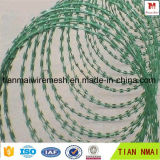 PVC Concertina Razor Barbed Wire for Protection Fence