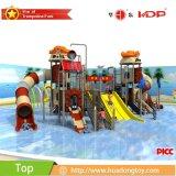 耐久の専門水スライドの屋外の運動場