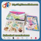 De grappige Kantoorbehoeften van de School die met Zak en het Stuk speelgoed van Stickers wordt geplaatst