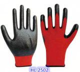 化学処理の印刷、機械動作、維持のためのニトリルの手袋