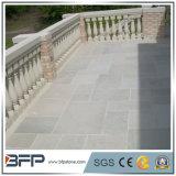 Pavimentadora de pavimentación irregular de la piedra caliza de los azulejos de la alta calidad con precio bajo
