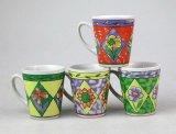 Tasse à thé en céramique haute forme avec forme de cône