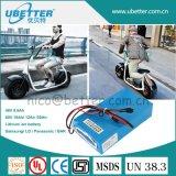 Fuente de batería del OEM para la batería de litio del paquete 60V 21ah de la batería de coche de Harley con las células NCR18650ga de Panasonic