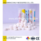 Tissu 100% de pièce de monnaie d'essuie-main de rayonne de Funtional mini de produit chaud facial comprimé de vente