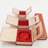 最も新しいアートペーパーの塗被紙の堅いボール紙のギフト用の箱(J10-E1)