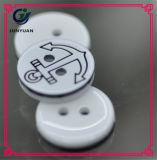 Кнопки пряжки 4holes кнопок пальто костюма рубашек круглые