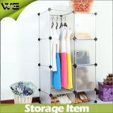 Garderobes van de Verkoop van het Kabinet van de Opslag van Armoire van de slaapkamer de Eenvoudige Plastic