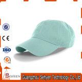 Gorras de béisbol promocionales del algodón con la colada de piedra