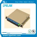 PLC van Lgx van de Telecommunicatie van Gpon 1X8 Splitser voor Pon/FTTH/CATV