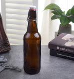 Amazon Hot Sale 500ml Swing-Top clair Verre vide les bouteilles de vin