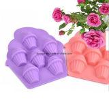 FDA Grade Silicon 5 cupes de moule en silicone à la boulangerie