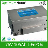 BMSのリチウム電池76.8V 105ah EV電池
