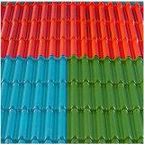 Strato rivestito del tetto di colore ondulato libero dei materiali da costruzione di GE Lexan