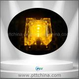 노란 색깔 피라니아 LED, 편평한 맨 위 피라니아 황색, 노란 최고 유출 LED