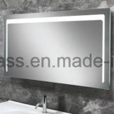 Espejo encendido eléctrico del cuarto de baño de Frameless LED del hotel