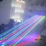 Luce laser capa mobile della barra della discoteca del DJ della fase