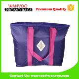La borsa più fredda non tessuta pieghevole riutilizzabile dell'isolamento di picnic di modo ha imballato con la bevanda dell'alimento per la corsa esterna