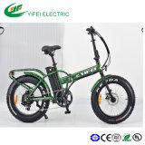 強い力の脂肪質のタイヤのリチウム電池の折る雪の電気自転車