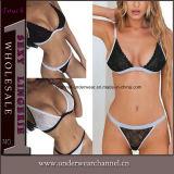 Ropa interior del sujetador de las bragas de señora Women Sexy Lingerie Sleepwear fijada (TFQQ1092)
