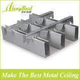 Modèles faux de plafond de restaurant en aluminium de mode