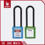 BdG32 Boshiの黄色いナイロン長い手錠の手錠の安全パッドロック