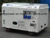 10kw Air-Cooled特別なデザインディーゼル発電機の開いたフレーム
