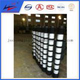 ISO Transportadores de rodillos de acero Rodillos de impacto Rodillo