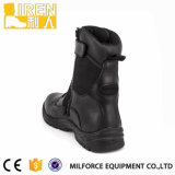 Men Black Side Zipper Military Tactical Boots