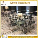 普及した結婚式の家具のゆとりの透過Chiavariの椅子