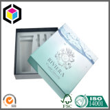 Rectángulo de empaquetado de papel plegable de la cartulina del estilo para el perfume de los cosméticos