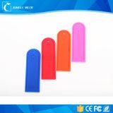 Étiquettes lavables de blanchisserie d'IDENTIFICATION RF de température élevée