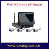WiFi NVR con 10 '' visualización Screeen