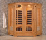 Sauna infravermelha da madeira contínua (AT-0929)
