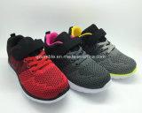 22-36 chaussures occasionnelles d'enfants de taille avec le haut respirable