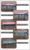 Кроватка аварийной ситуации спасения машины скорой помощи алюминиевого сплава Ea-3A2 регулируемая