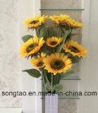 2016 de Hete Kunstmatige Zonnebloem van de Verkoop voor de Decoratie van de Winkel