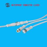 PVC/Nylon/Metal材料LEDのストリップIP67 2 Pinの防水コネクター