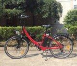 Bici eléctrica de la ciudad