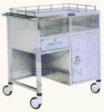AG Ss043 세륨 ISO는 304 스테인리스 크래쉬 손수레 의학 트롤리를 사용한다