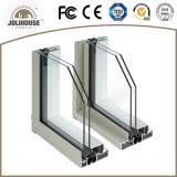 Finestra di scivolamento di alluminio personalizzata fabbricazione di alta qualità