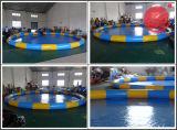Fabbrica-Dirigere la sfera ambulante di Zorb del criceto gonfiabile rosso dell'acqua (Z1-009)
