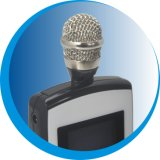 O UHF transmissor sem fios G com MP3/MP3T