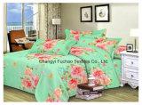 Fábrica de poliéster / algodão Material estofado de tecido Colcha de colchão moderno Conjunto de cama Folha de capa