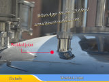 2000L ss316L Una sola pared depósito mezclador con agitador de barrido inferior y lateral.