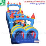 Jogo inflável do obstáculo do grande divertimento para miúdos & adultos