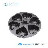Лоток Bakeware прессформы пирожня круглой формы алюминиевый