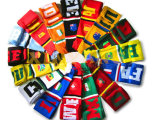 Sciarpa di gioco del calcio della squadra lavorata a maglia inverno