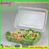 Plastikverpackungs-Tellersegment für Freshfruit oder den Supermarkt-Frucht-Verkauf