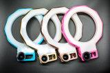 3in1 LED heller Selfie Ring USB-Klipp auf Objektiv-Weitwinkelobjektiv