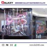 Plein écran LED transparentes pour la publicité, de la scène, de la fenêtre de l'installation, vidéo, les magasins